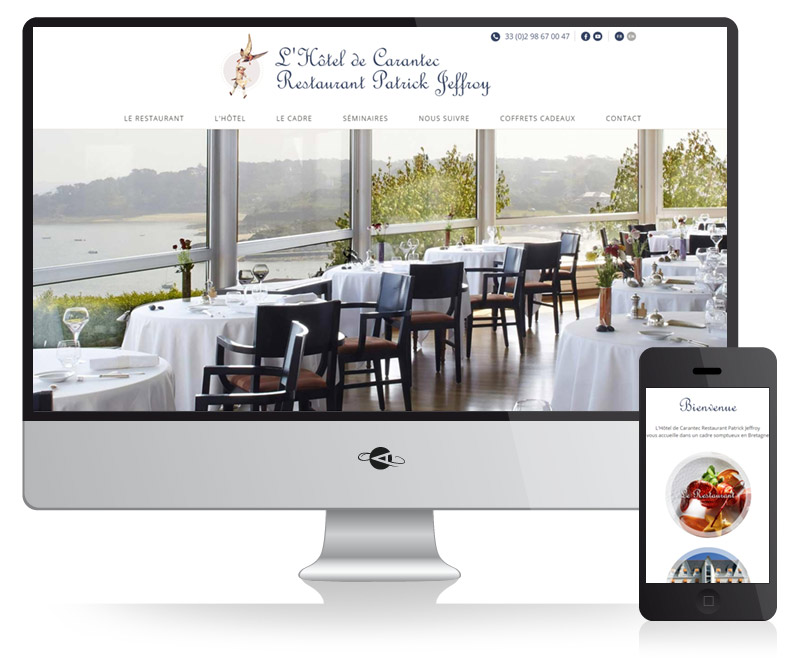 Agence web brest abergraphique cr ation de sites for Site reservation hotel en ligne
